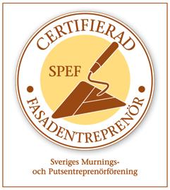 Morneon är en SPEF-certifierad fasadentreprenör, vilket ger dig som kund trygghet i att vårt arbete alltid håller hög kvalitet