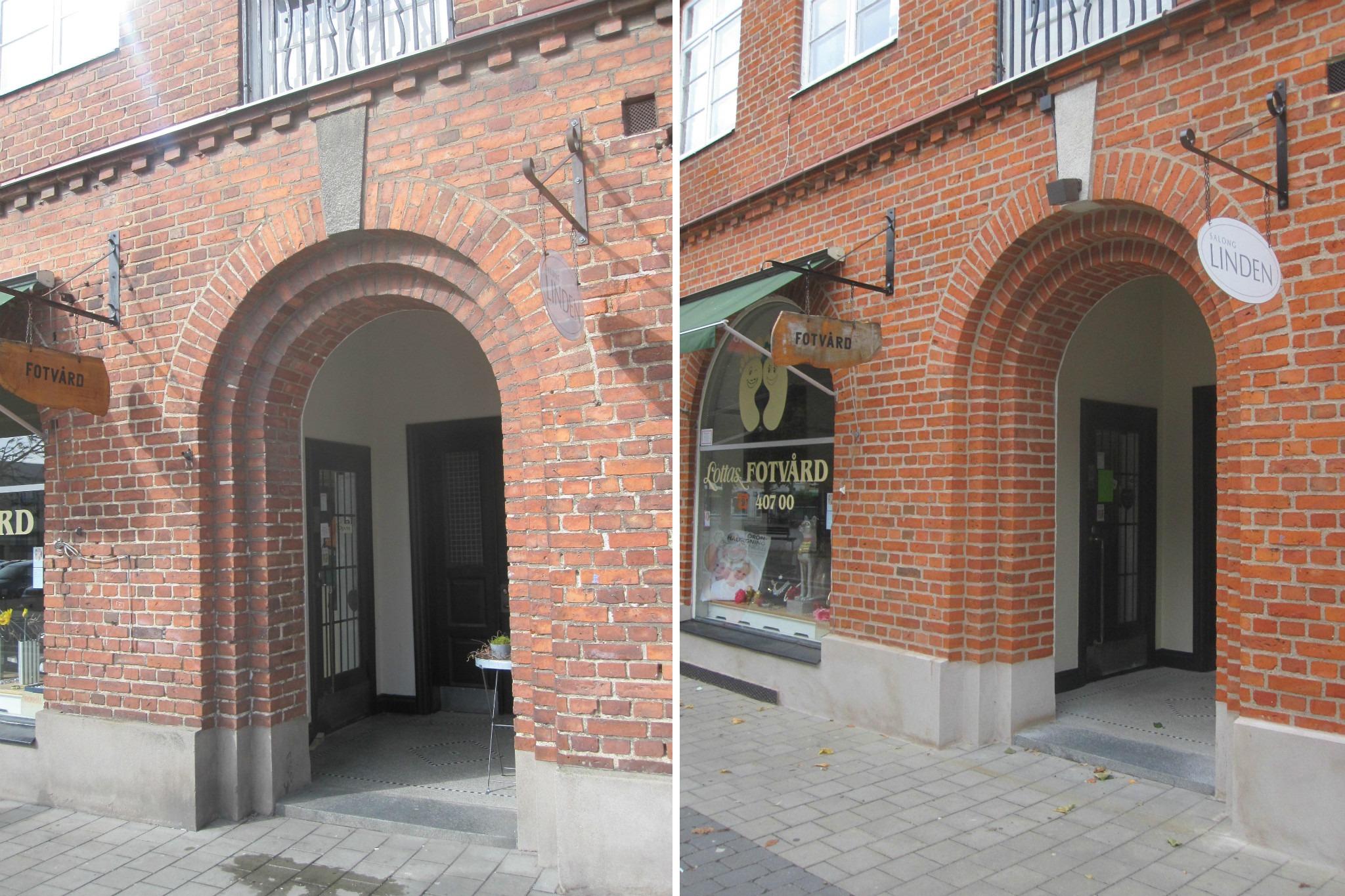 Fasadrenovering Trelleborg omfogning tegelrenovering